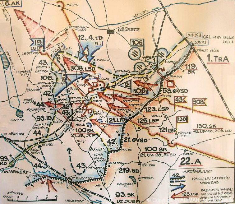 kurlandschlachten 14 panzerdivision